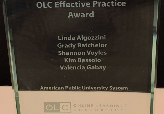 2017 OLC Effective Practice Award